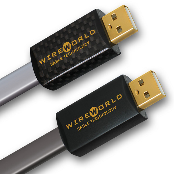 Referencyjne kable USB od Wireworlda.